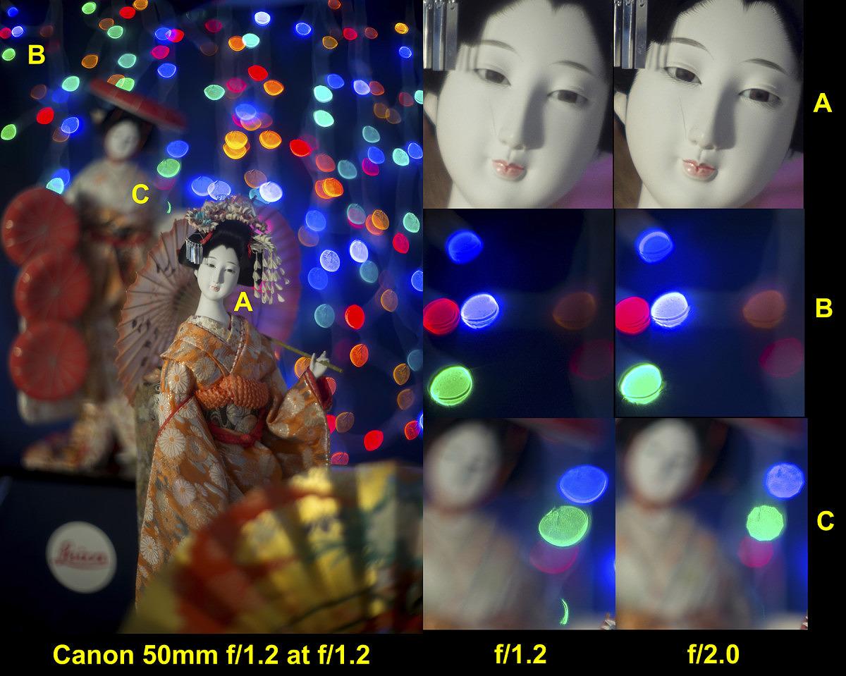 Canon 50/1.2 LTM #32619 @ f/1.2