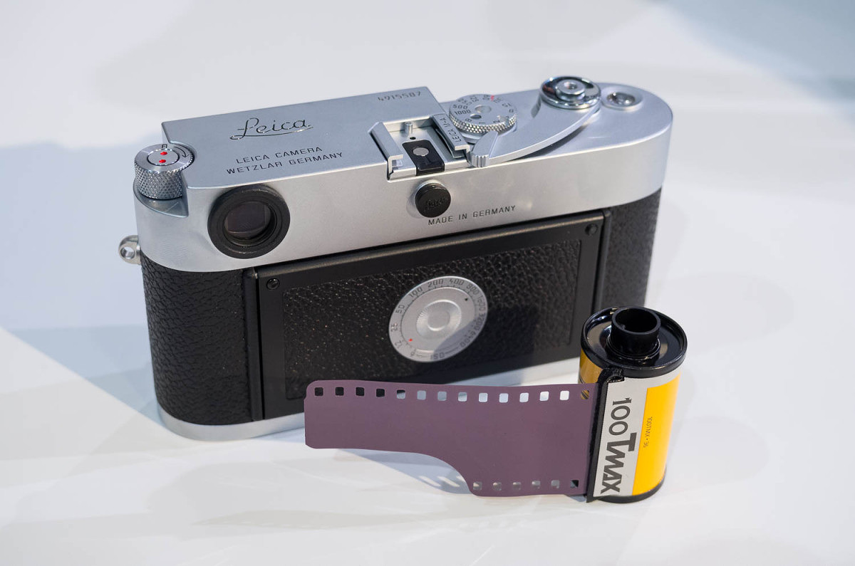 Each M-A comes with a roll of Tri-X (although this is a roll of TMAX)