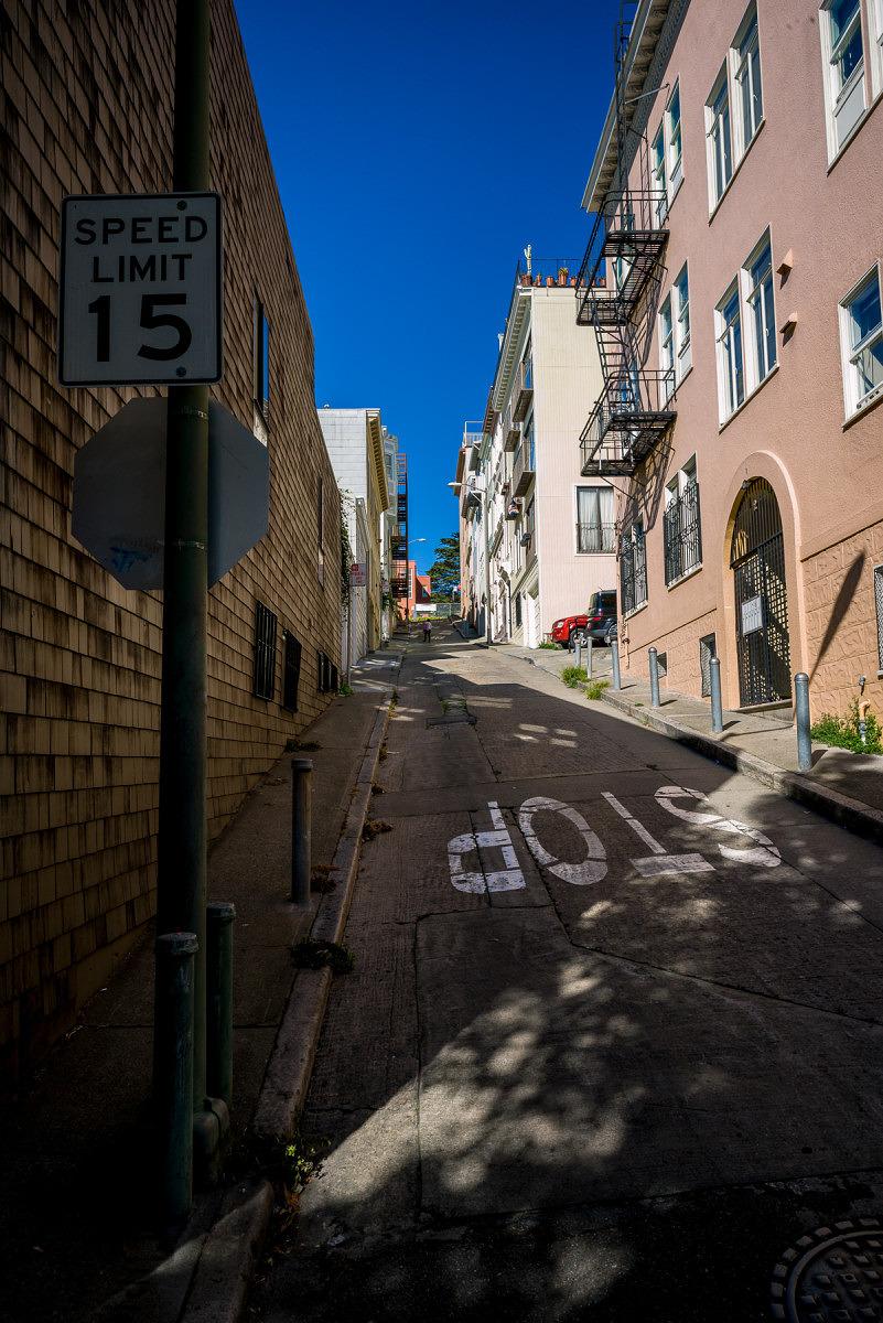 Angled Street