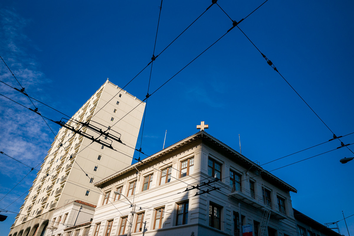 Street Wires in Chinatown