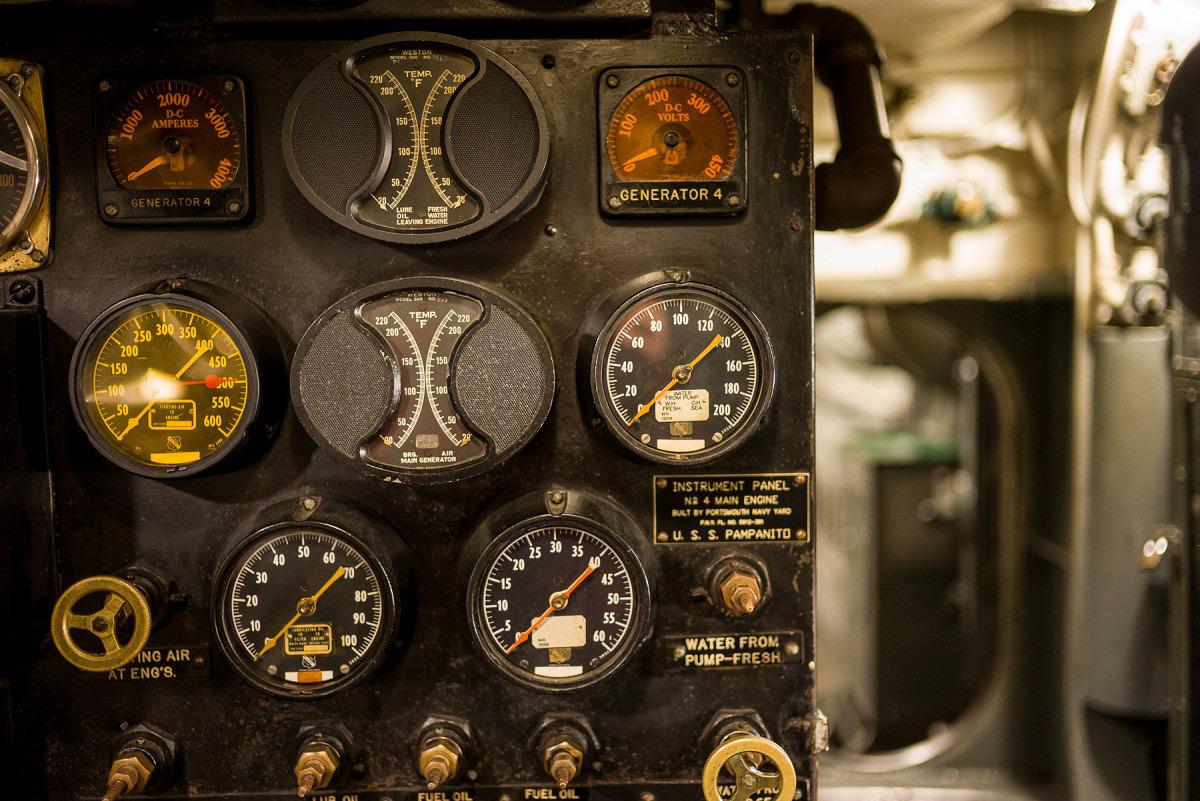 Sub Engine Gauges