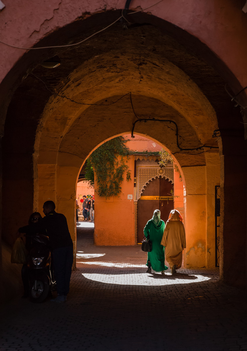 THE SOUKS MARRAKESH MOROCCO