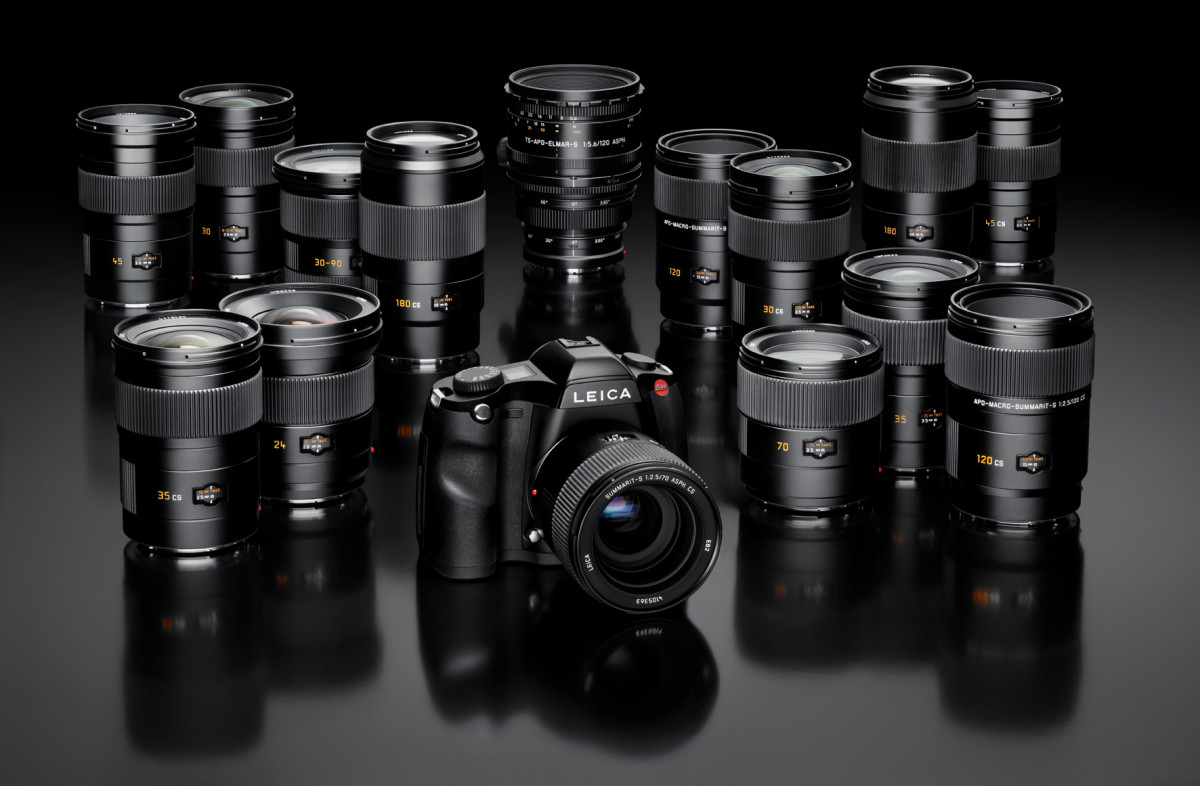 Leica S Body_S-Lenses_Range