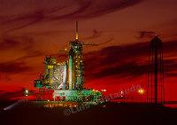 2554 Shuttle Eandeavour. NASA. Florida. USA
