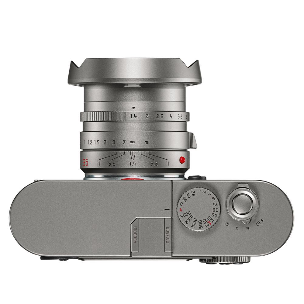 M9 Titanium top + lens hood