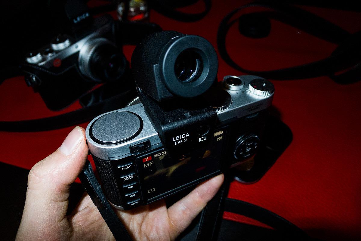 Big viewfinder on EVF-2