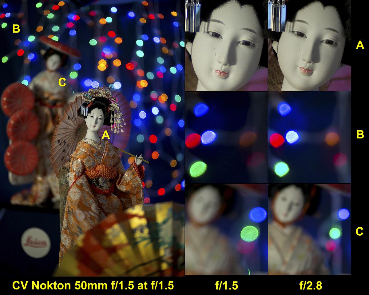 CV 50/1.5 Nokton LTM #9950152 @ f/1.5