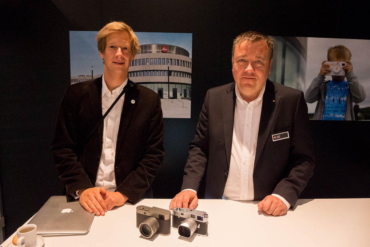 Jesko von Oeynhausen and Stefan Daniel with the M Edition 60 and M-A