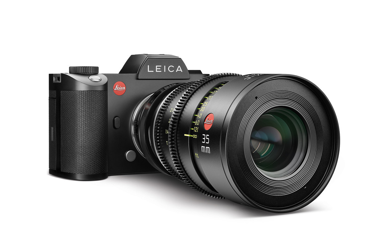 The SL will be able to utilize Leica Cine lenses
