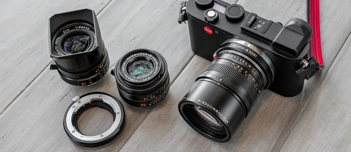 Using M Lenses on the Leica CL: New City, New Camera