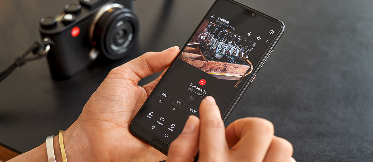 Leica Releases New FOTOS App for Wi-Fi Connectivity | Red