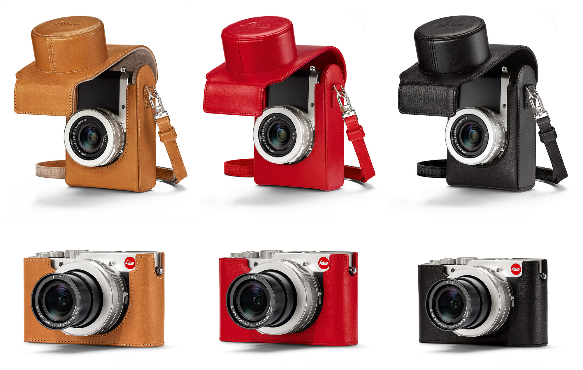 Leica Protector Case for D-Lux 7 Compact Camera Red