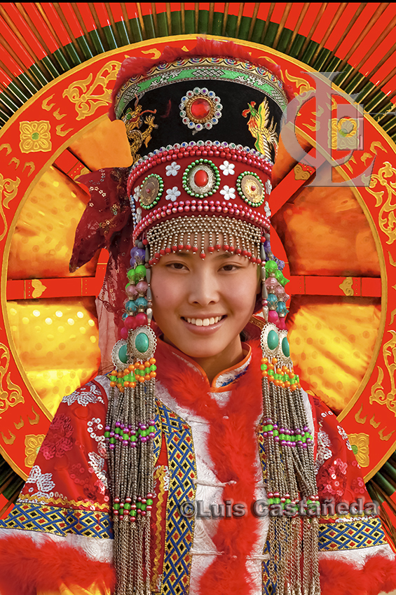 mongol-woman