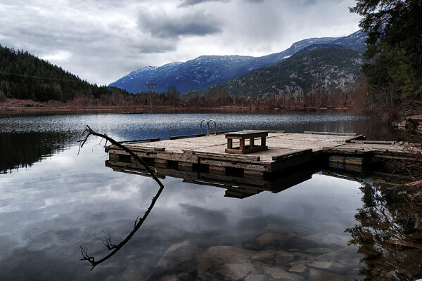 The Dock at One Mile Lake